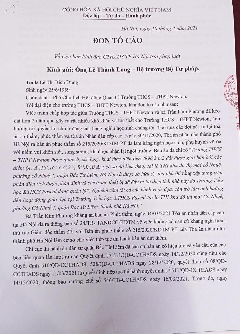 Vụ lãnh đạo trường Newton bị hành hung: Cần sớm có kết quả xử lý để đảm bảo tính nghiêm minh pháp luật?! - Ảnh 3.