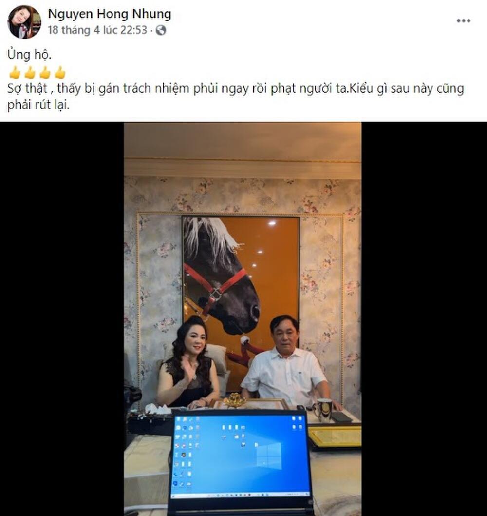 Vợ nghệ sĩ Xuân Bắc cổ vũ bà Nguyễn Phương Hằng, tán đồng quan điểm 'táng vỡ mặt' Trang Trần nếu gặp Ảnh 4