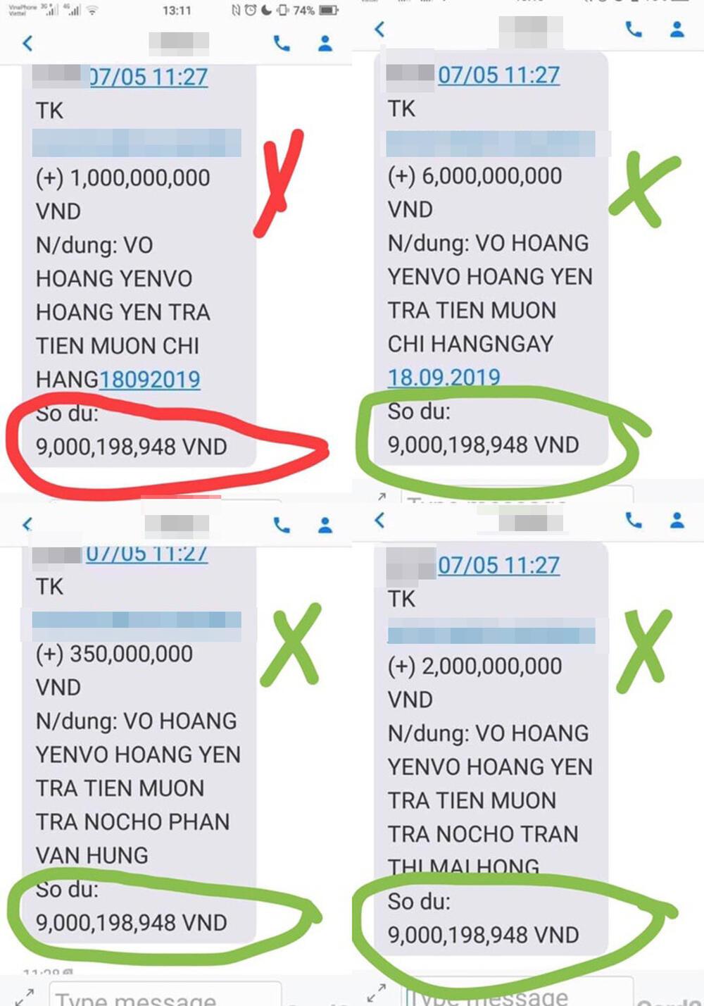 Vừa khoe ông Võ Hoàng Yên trả nợ gần 17 tỷ, bà Phương Hằng liền bị bóc phốt: 'Sao số dư không thay đổi?' Ảnh 3
