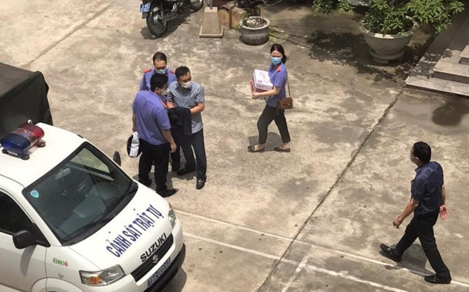 Công an Hải Phòng thông tin nguyên nhân 3 cán bộ Công an quận Đồ Sơn bị khởi tố, bắt giam