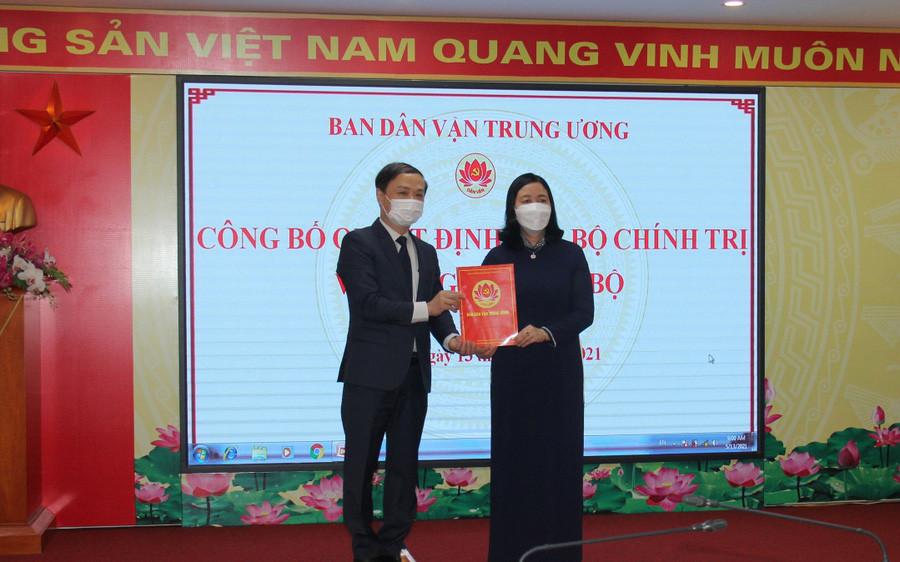 Ông Phạm Tất Thắng làm Phó Trưởng Ban Dân vận Trung ương