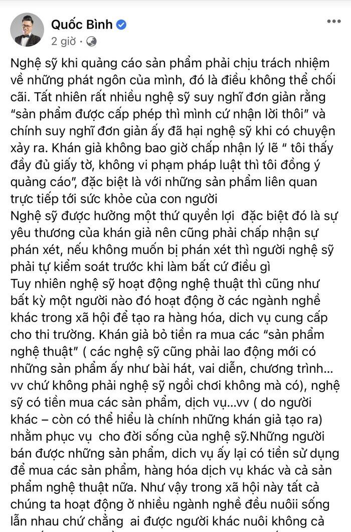 Bà Nguyễn Phương Hằng đanh thép cho rằng 'công chúng nuôi nghệ sĩ' Ảnh 4