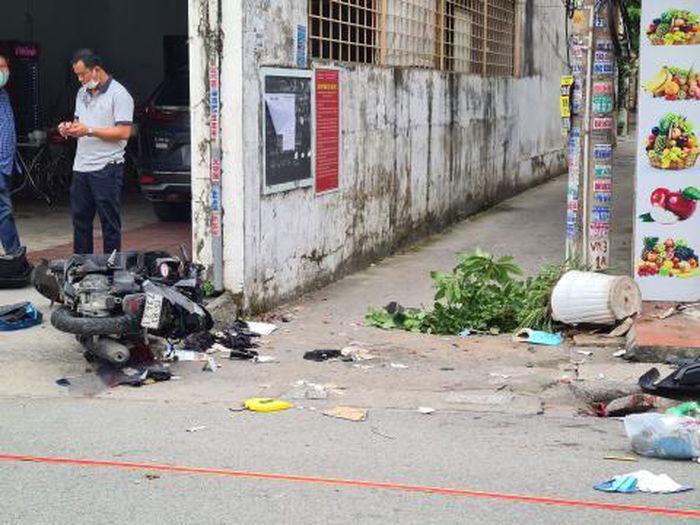 Vụ Mazda CX5 truy đuổi, đâm chết 2 người ở Hải Phòng: Nhóm nạn nhân có 6 người, hẹn để đánh nhau? - Ảnh 1.