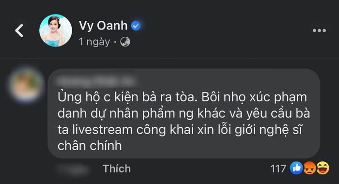 Vy Oanh sẽ khởi kiện bà Phương Hằng sau hàng loạt lùm xùm đấu tố? Ảnh 2