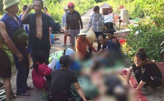 Thấy bạn trượt chân ngã xuống suối, 3 nữ sinh nhảy xuống cứu khiến 4 em tử vong thương tâm