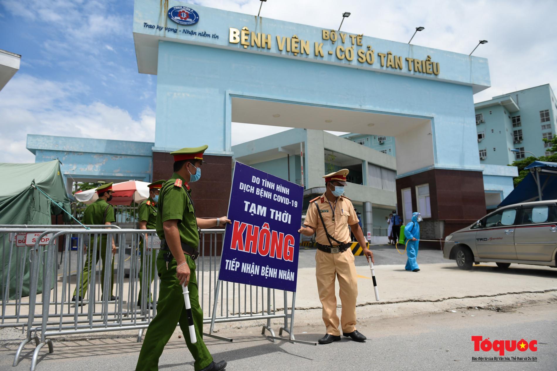 Hà Nội: Chính thức kết thúc cách ly y tế Bệnh viện K Tân Triều - Ảnh 7.