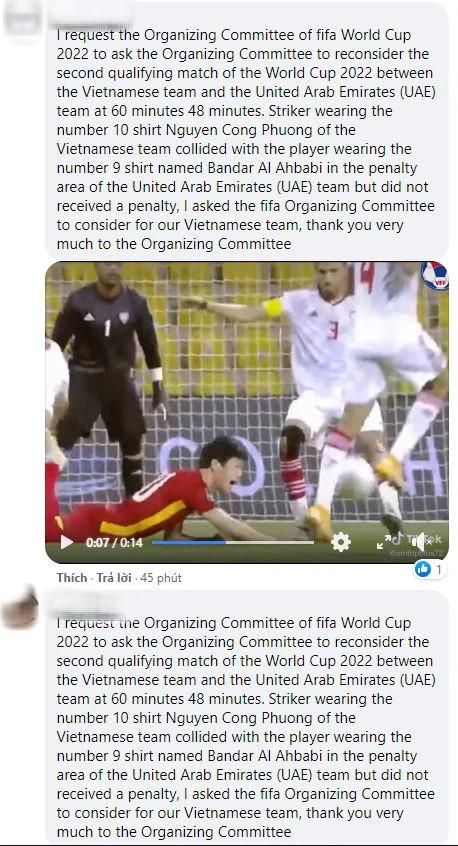 Fan Việt tràn vào Fanpage của FIFA World Cup để đòi công bằng cho Công Phượng - Ảnh 4.