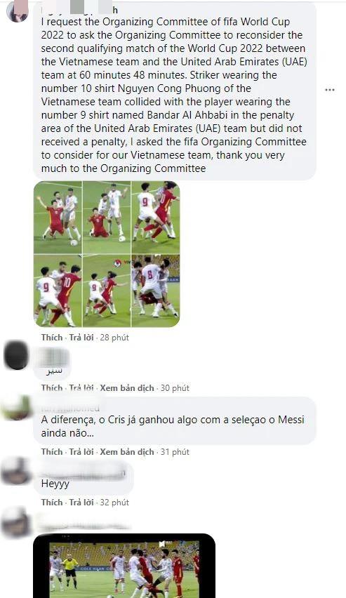 Fan Việt tràn vào Fanpage của FIFA World Cup để đòi công bằng cho Công Phượng - Ảnh 5.