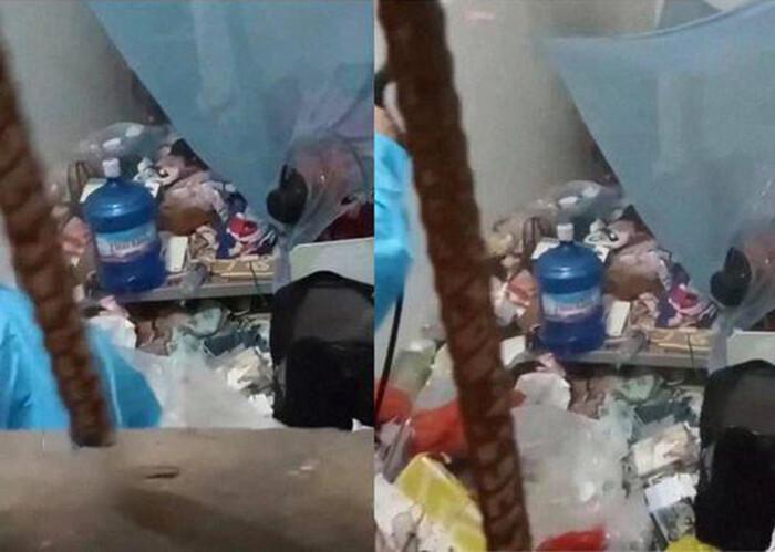 Tới phòng trọ của gái xinh phun khử khuẩn, nhân viên choáng váng khi thấy rác 'ngập lụt' bên trong Ảnh 1