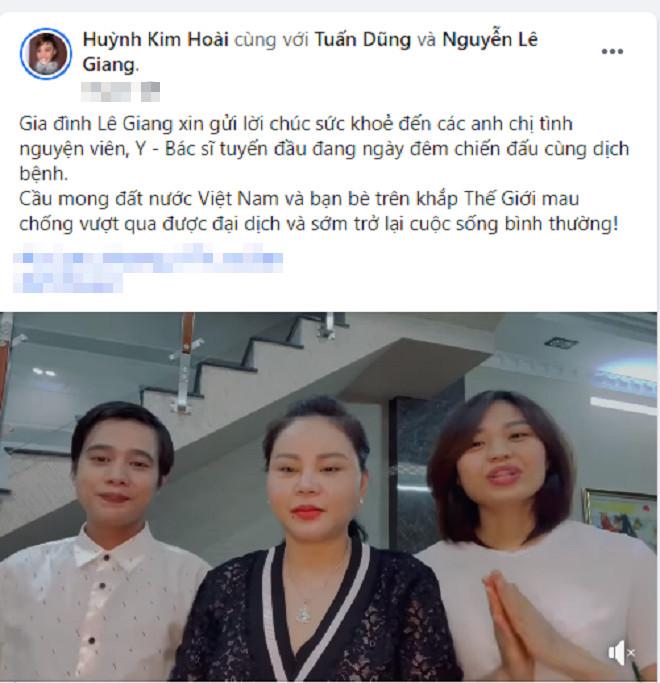 Lê Giang và Lê Lộc lộ diện sau ồn ào gia đình của Duy Phương Ảnh 1
