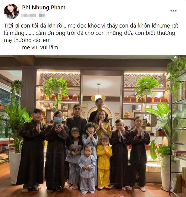 Phi Nhung: 'Cảm ơn ông trời đã cho con những đứa con biết thương mẹ thương các em' Ảnh 4