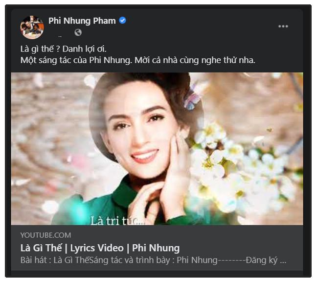 Phi Nhung trải lòng qua bài hát mới tự sáng tác: 'Khổ vì danh nhiều lắm' Ảnh 2