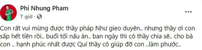 Phi Nhung đăng đàn than hết tiền hậu ồn ào với Hồ Văn Cường, chuyện gì đây?
