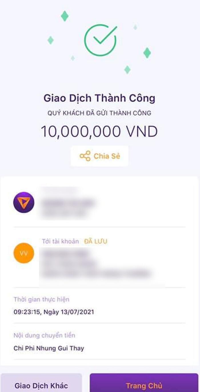 Vừa than hết tiền, Phi Nhung đăng ảnh chuyển khoản làm từ thiện, còn nói 'đạo làm người' gây xôn xao