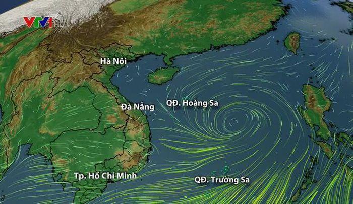 Áp thấp nhiệt đới giật cấp 9 trên Biển Đông, Hà Nội hôm nay có mưa to - Ảnh 1.