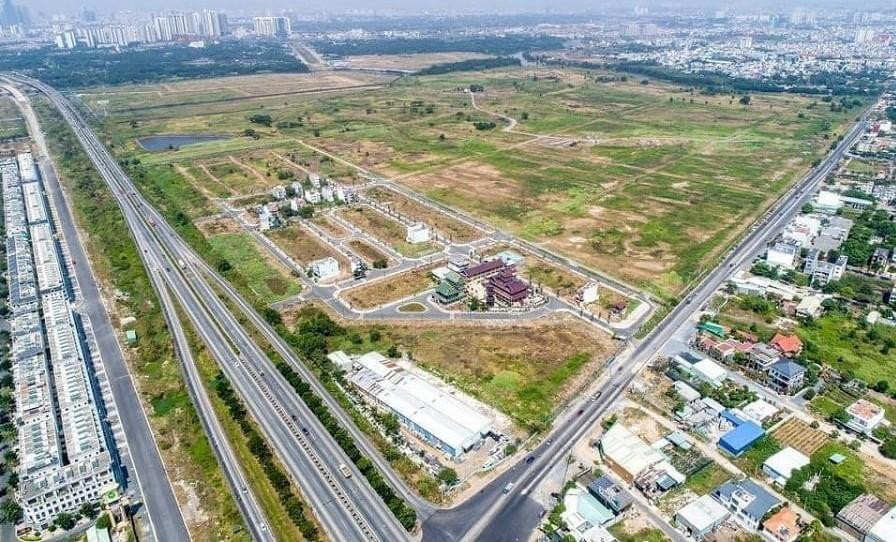 Khu đất thực hiện dự án Sài Gòn Bình An.