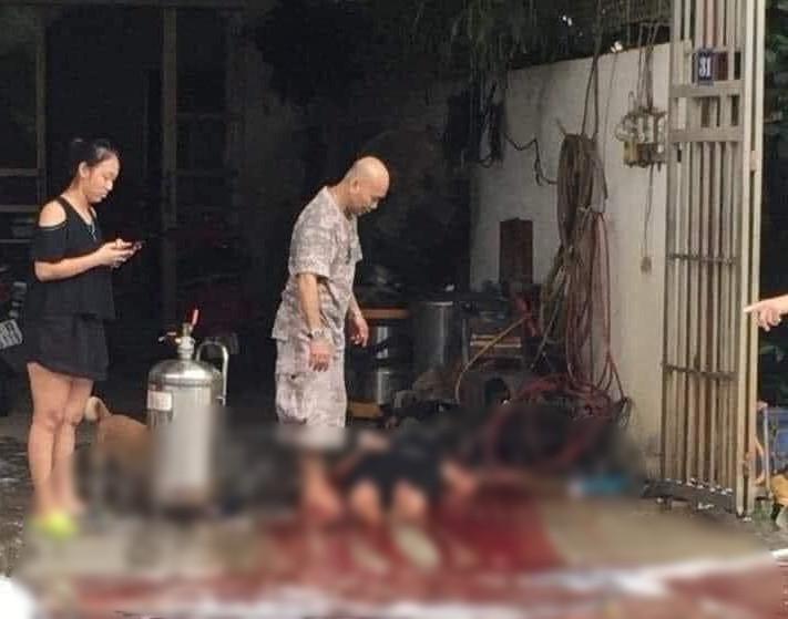 Yên Bái: Nổ bình tạo bọt rửa xe, người phụ nữ tử vong thương tâm - Ảnh 1.