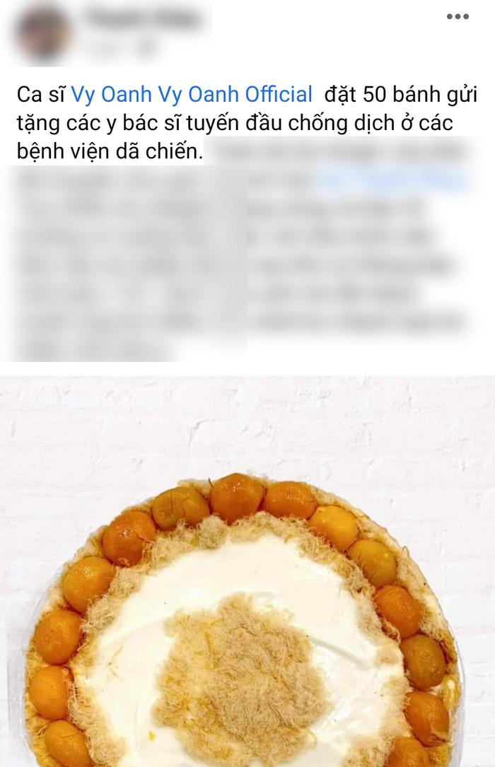 Đang ở cữ để chăm con, Vy Oanh vẫn âm thầm mua quà tặng bác sĩ tuyến đầu chống dịch Ảnh 1