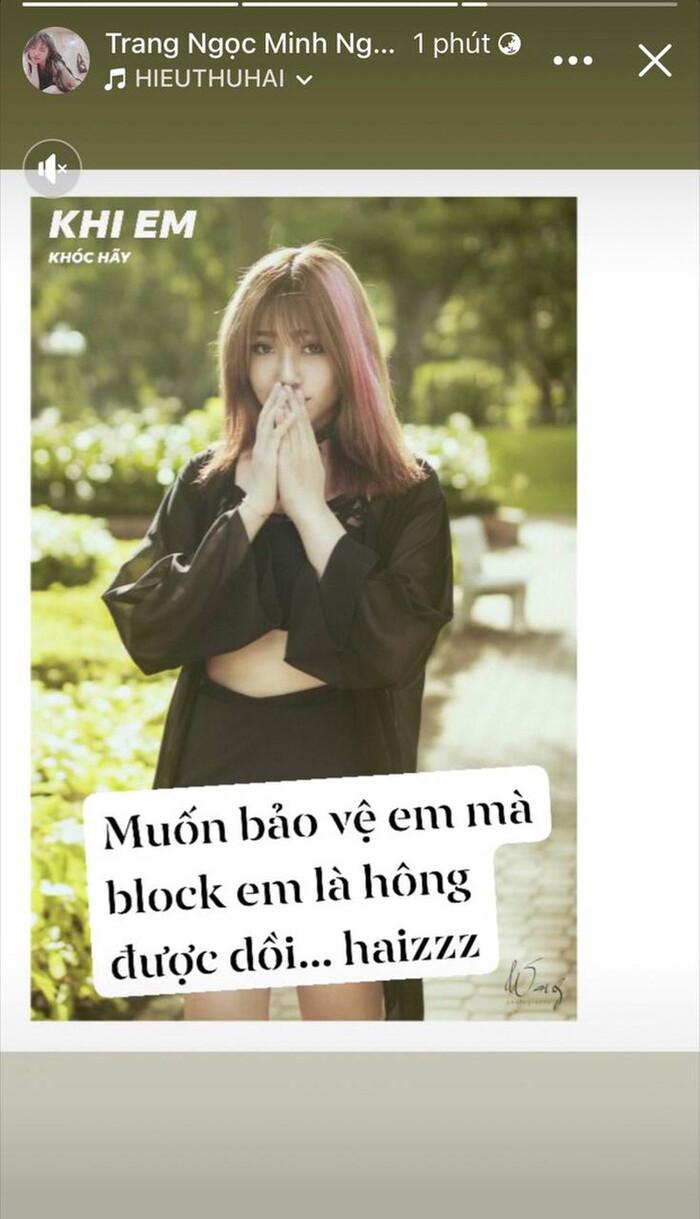 Lương Minh Trang lên tiếng về tin đồn 'cắm sừng' Vinh Râu, 'bóng gió' tố chồng cũ 'cạch mặt' cô Ảnh 1