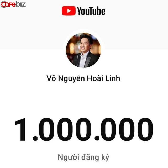 Sau ồn ào từ thiện, doanh thu từ kênh YouTube của NS Hoài Linh tuột dốc không phanh như thế nào? - Ảnh 1.