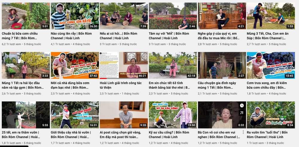 Sau ồn ào từ thiện, doanh thu từ kênh YouTube của NS Hoài Linh tuột dốc không phanh như thế nào? - Ảnh 4.