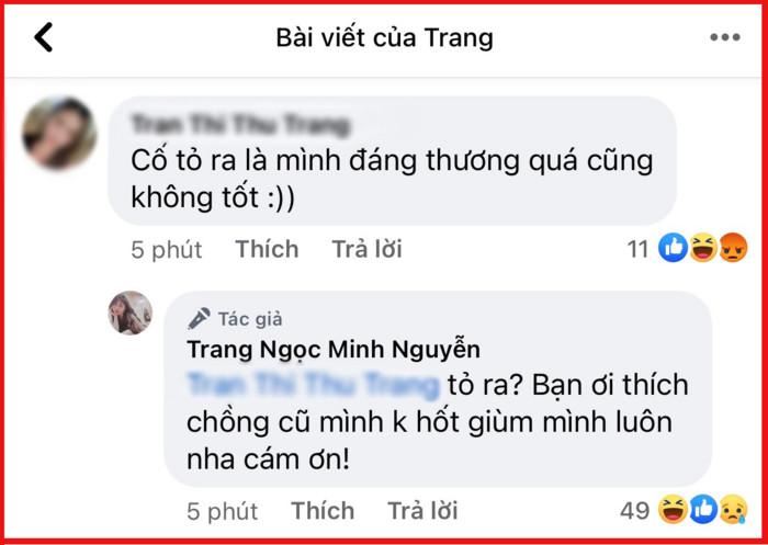 Hậu ly hôn Vinh Râu, Lương Minh Trang 'thức trắng' 2 đêm liền, sẵn sàng nhường chồng cho anti-fan Ảnh 3