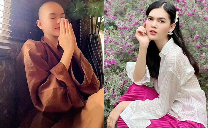 Diễn viên Ngọc Trinh lần đầu thổ lộ lí do cạo đầu, quy y cửa Phật: Từng ị sang chấn tâm lý, trầm cảm nặng Ảnh 3