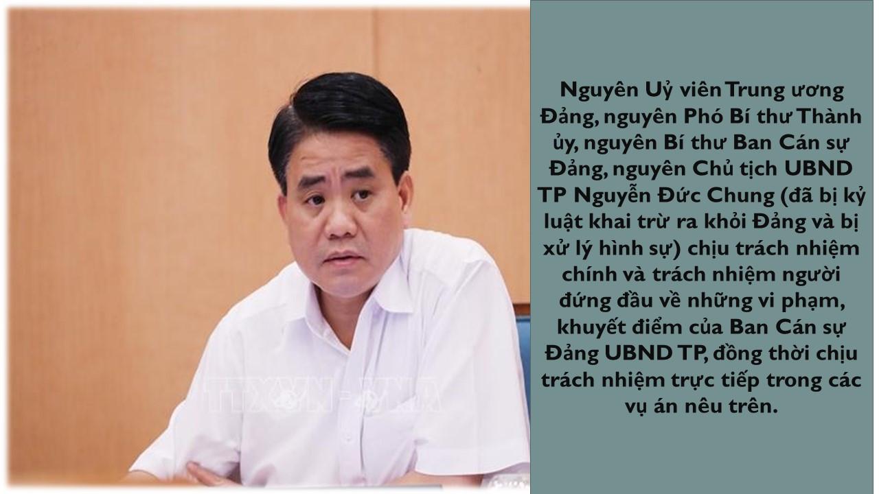 Ủy ban Kiểm tra Trung ương kỷ luật nhiều lãnh đạo TP Hà Nội - Ảnh 2.