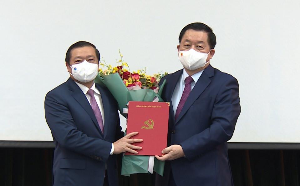 Bí thư Tỉnh ủy Cao Bằng làm Phó Ban Tuyên giáo Trung ương