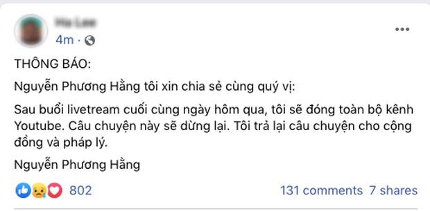 Sau khi bà Phương Hằng tuyên bố dừng lại, loạt kênh YouTube hàng chục nghìn lượt theo dõi của Đại Nam đã bốc hơi - Ảnh 1.