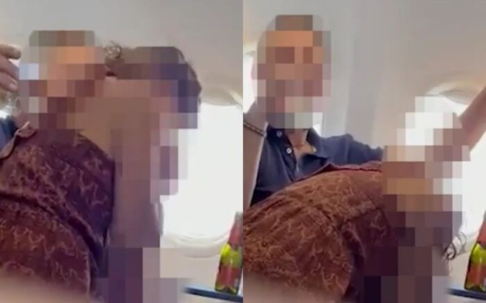 Cặp đôi thản nhiên 'vui vẻ' trên máy bay khiến các hành khách 'choáng váng'