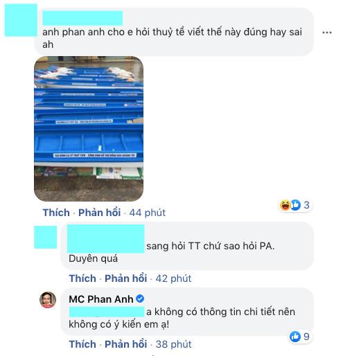 MC Phan Anh đối 1:1 với loạt antifan đề cập đến chuyện từ thiện, phản ứng thế nào về lùm xùm tương tự của Thuỷ Tiên? - Ảnh 6.