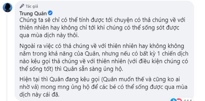 Một nam ca sĩ 'cãi tay đôi' với anti-fan vì liên tục bị đòi sao kê sau khi đăng bài kêu gọi quyên góp
