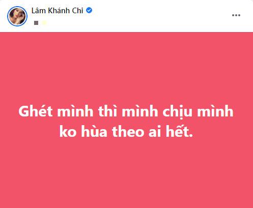 Lâm Khánh Chi có động thái đứng về phía Hồ Văn Cường: 'Ghét thì mình chịu, không hùa theo ai' Ảnh 5