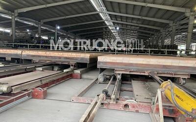 Nghệ An: Nhà máy trăm tỷ hoạt động 'chui' sản xuất gạch trái phép