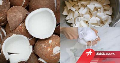 Cách làm dầu dừa dưỡng da tại nhà dễ hơn cả ăn kẹo, bạn đã biết chưa?