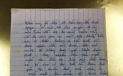 Con có người yêu khi học lớp 12, người mẹ viết tâm thư, đọc mấy câu cuối không kìm được nước mắt