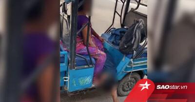 Thi thể con trai nằm sõng soài dưới chân mẹ sau khi bị bệnh viện từ chối nhận vì COVID-19 gây sốc