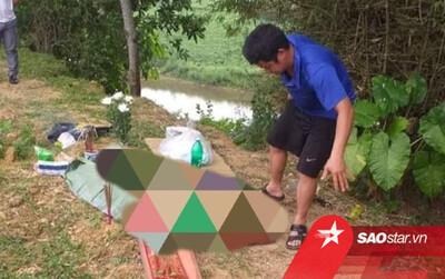 Hoảng hốt phát hiện thi thể bé sơ sinh trôi dạt bên sông Ngàn Sâu