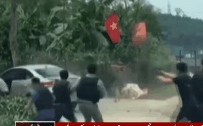 Video cảnh trinh sát rượt đuổi, chặn bắt chiếc xe hơi chở 6 kg ma túy, 4 bánh heroin