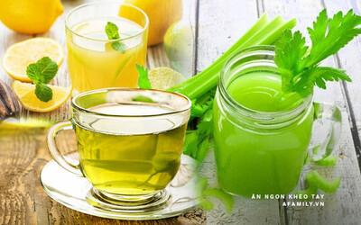 Uống gì giảm mỡ bụng cấp tốc? 5 loại đồ uống chị em không thể bỏ qua!