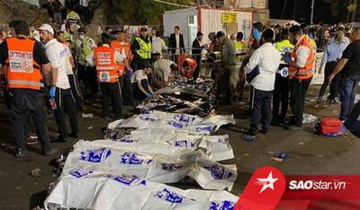 Hiện trường kinh hoàng vụ giẫm đạp ở Israel khiến gần 150 người thương vong
