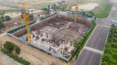 Xây dựng không phép hơn 6.000 m2, chủ đầu tư An Lạc Green Symphony bị phạt 40 triệu đồng