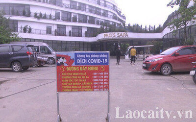 Khách du lịch mắc Covid-19 đi 13 địa điểm ở Sapa, khách sạn Pao bị phong tỏa