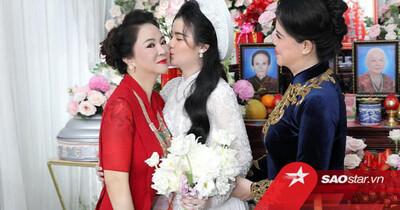 Bà Phương Hằng gây xôn xao khi công khai khen ngợi nhan sắc con dâu mới: 'Nó đẹp y như tôi thời trẻ'