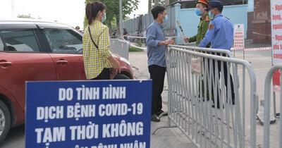 Nóng: Phong toả Bệnh viện K cơ sở Tân Triều, tạm dừng tiếp nhận bệnh nhân