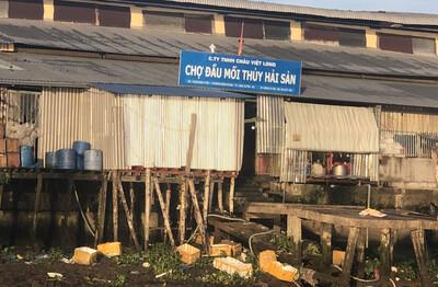 An Giang: Cần xử lý nghiêm việc Chợ đầu mối Thủy Hải Sản xả thải trực tiếp ra sông Hậu