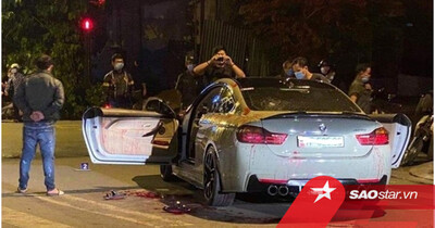 Hai người đi BMW bị chém trọng thương vì tiếng pô nổ to