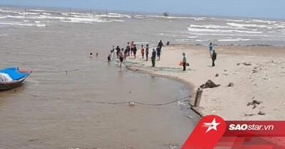 Vụ 3 học sinh lớp 7 bị đuối nước mất tích ở Nam Định: Lên phương án tìm kiếm xuyên đêm