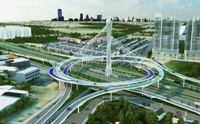 'Siêu dự án' đường trên cao dài nhất Việt Nam đi qua những địa phận nào của Hà Nội?